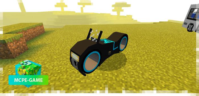 Мотоцикл из Tron