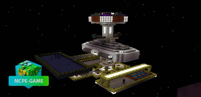 Survival Space Station — Карта на выживание на космической станции