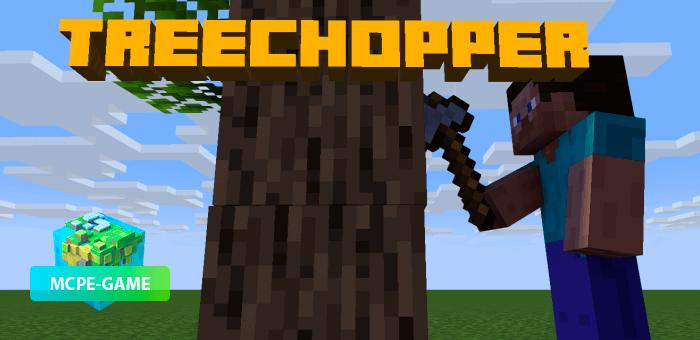 TreeChopper — Мод на быструю срубку деревьев