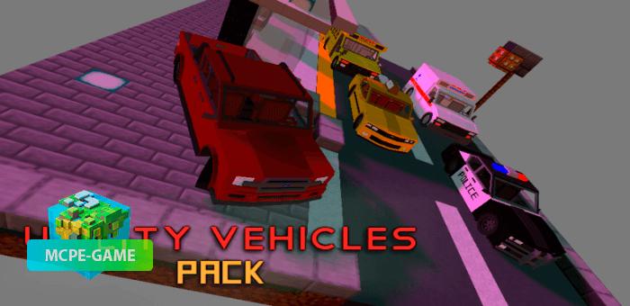 Utility Vehicles Pack — Мод на 5 городских машин