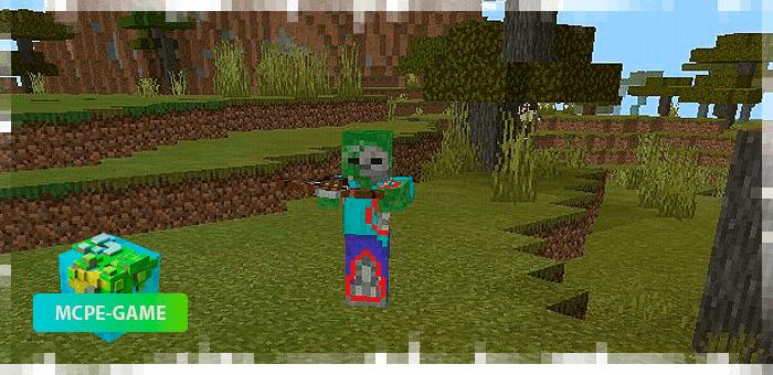 Зомби-скелет
