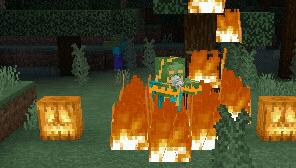 Хеллоуинский зомби