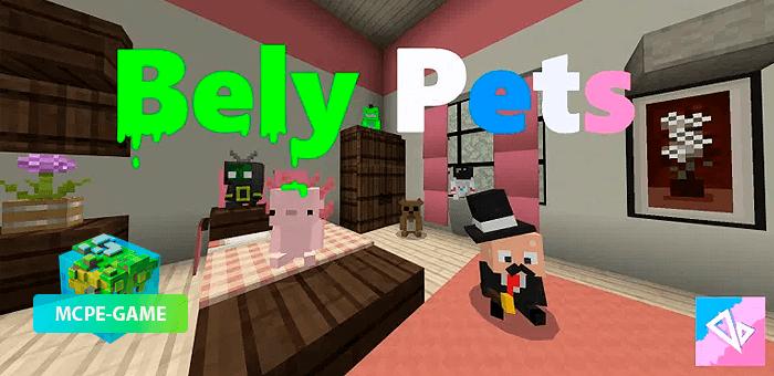 BelyPets — Мод с милыми питомцами