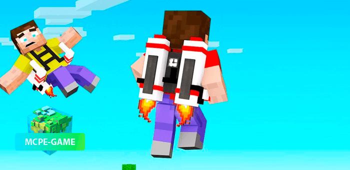 Better Jetpack — Мод на джетпак в Майнкрафт ПЕ