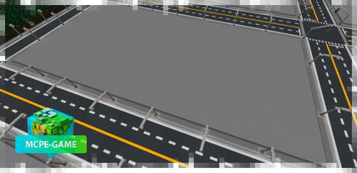 Большие участки для постройки города в Майнкрафт ПЕ