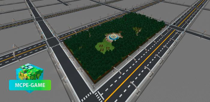 City Template — Карта с готовым шаблоном города