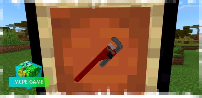Новое оружие из мода The Crafting Dead