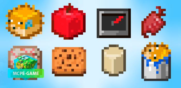 CubeTems — Текстуры, убирающие круглые предметы