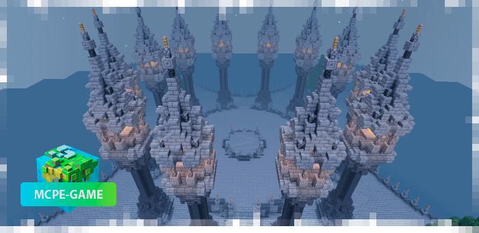 A Great Castle — Карта с огромным и красивым замком
