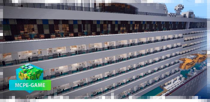 A Great Cruise — Карта с очень красивым круизным лайнером
