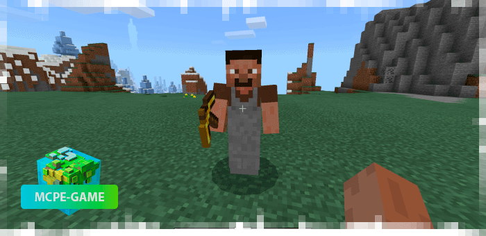 Tool Master from the Human Addon mod for Minecraft PE