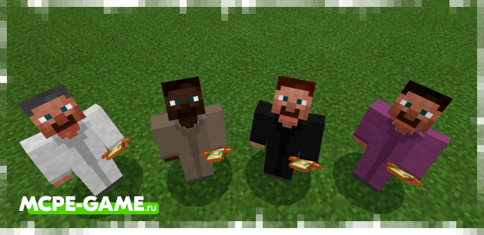 Priest from the Human Addon mod for Minecraft