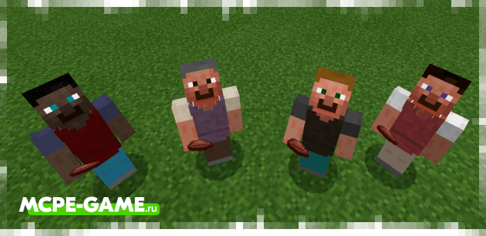 Artist from the Human Addon mod for Minecraft