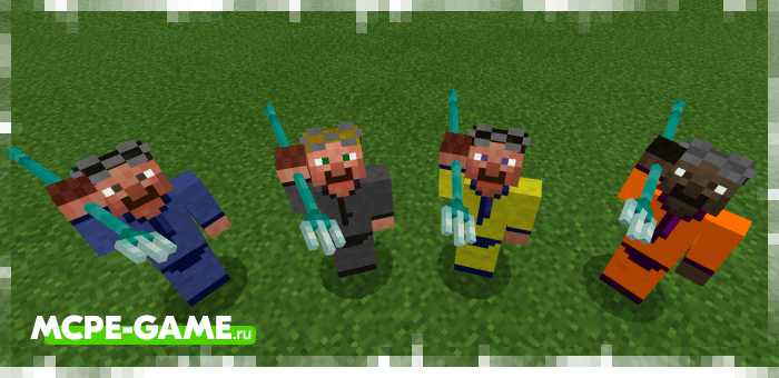 Oceanologist from the Human Addon mod for Minecraft