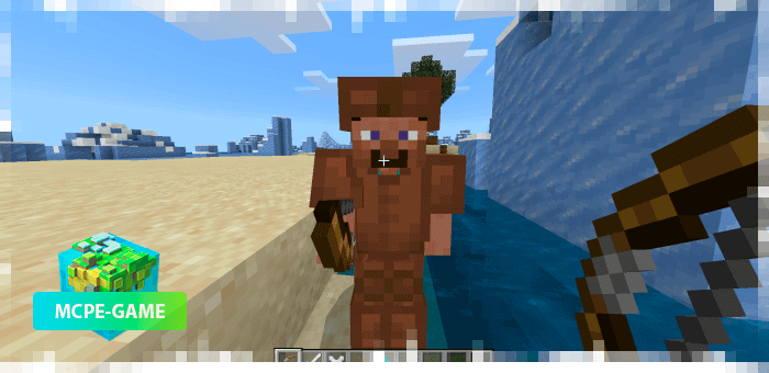 Archer from the Human Addon mod for Minecraft PE