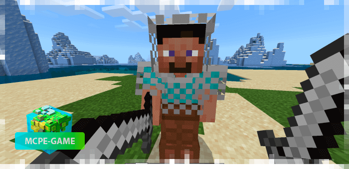 Knight from the Human Addon mod for Minecraft PE