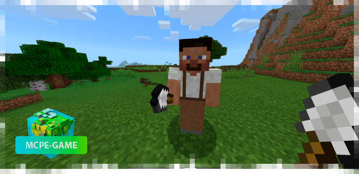 Digger from the Human Addon mod for Minecraft PE