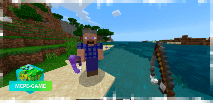 Fisherman from the Human Addon mod for Minecraft PE
