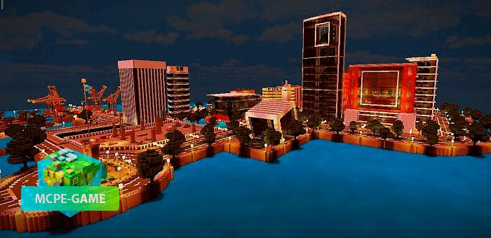 Город Кресги — Большой и современный мегаполис