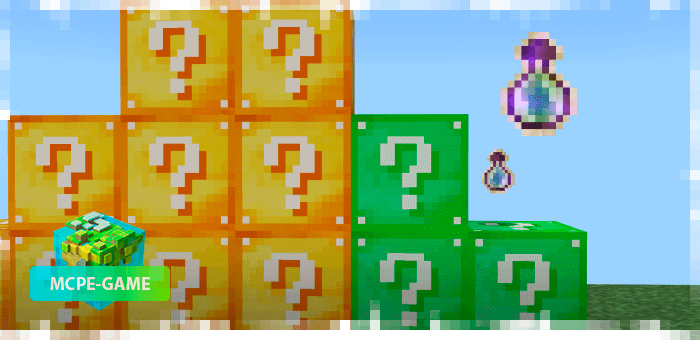 Lucky Blocks - 7 unique Lucky Blocks