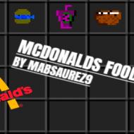 McDonalds Food — Мод на еду из Макдональдс