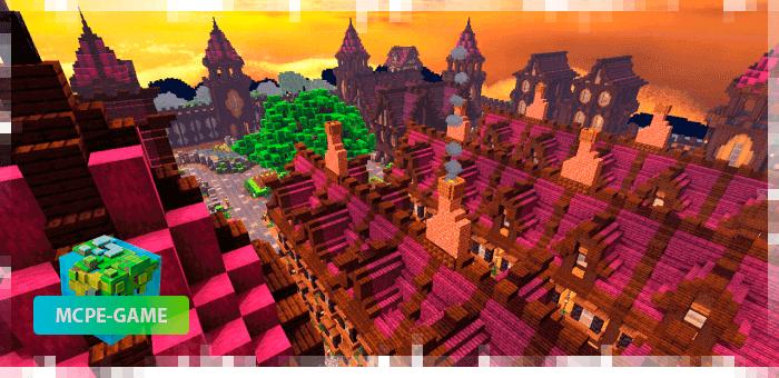 Medieval Fortress — Карта со средневековым замком-крепостью