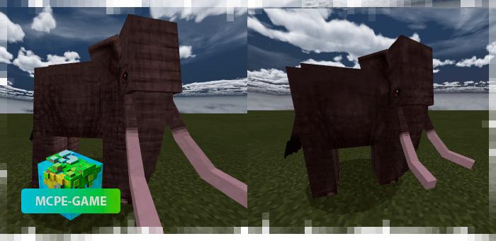 Слоны из мода на животных Mo'creatures