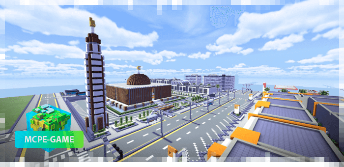 Modern City — Карта современного города