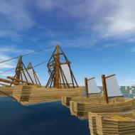 Old Style Ferry — Мод на парусные корабли