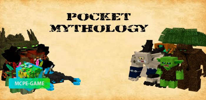 Pocket Mythology — Большой мод с мифическими мобами, броней и оружием