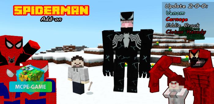 Spider-Man — Мод на Человека-Паука и злодеев