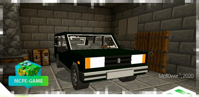 Автомобиль ВАЗ 2104 в Майнкрафт ПЕАвтомобиль ВАЗ 2104 в Майнкрафт ПЕ