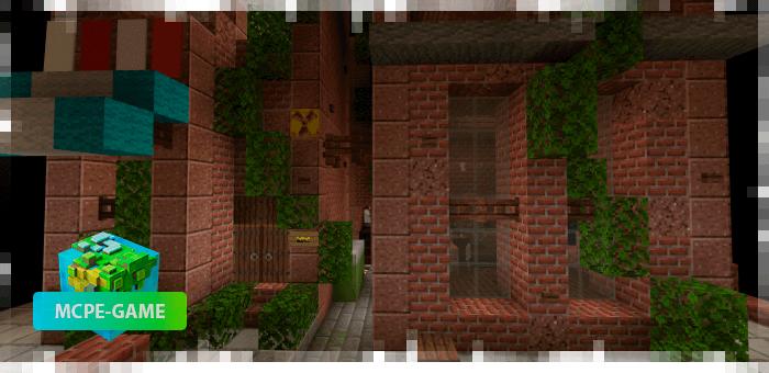 ПвП карта The Warehouse для Майнкрафт ПЕ