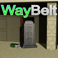 WayBelt — Мод на ремень для телепортации