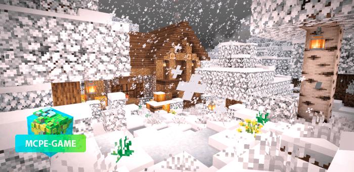 Winter Pack — зимний набор текстур