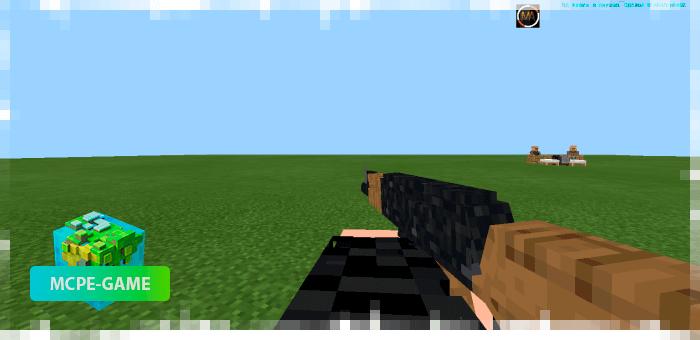 AK47 из мода на огнестрельное оружие 3D Guns & Weapon