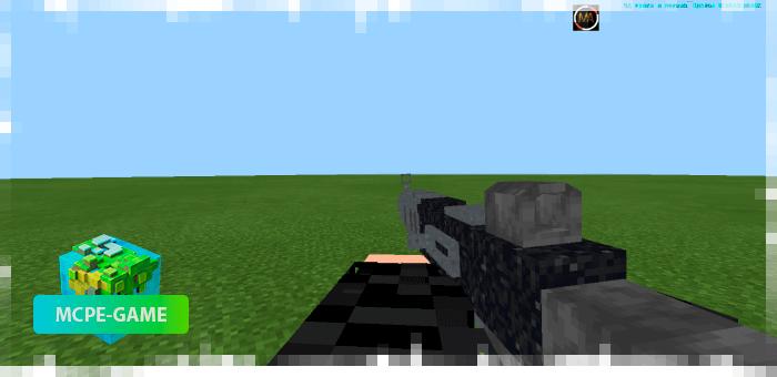 M16 из мода на огнестрельное оружие 3D Guns & Weapon