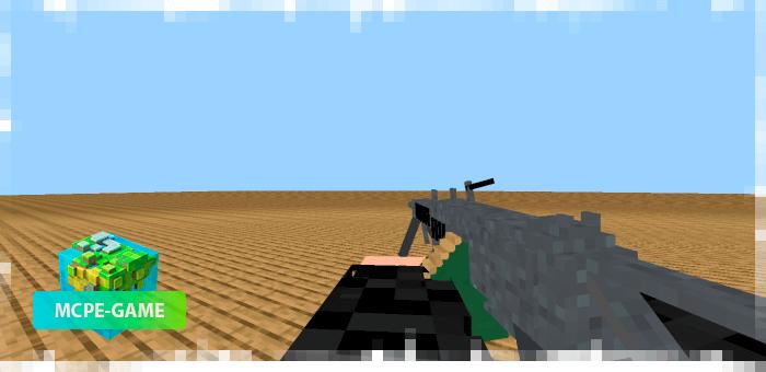 M249 из мода на огнестрельное оружие 3D Guns & Weapon