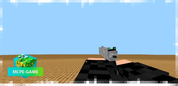 M1911 из мода на огнестрельное оружие 3D Guns & Weapon