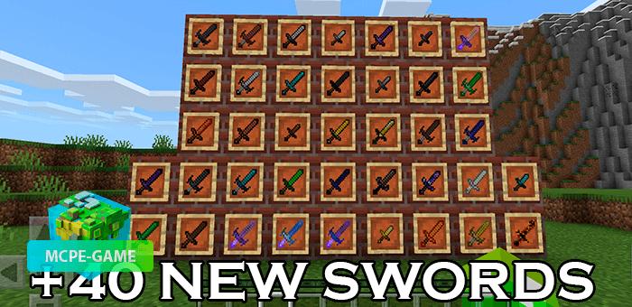 Plus Swords — Мод на новые и улучшенные мечи