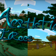 Aesthetic Trees — Майнкрафт мод на реалистичные деревья