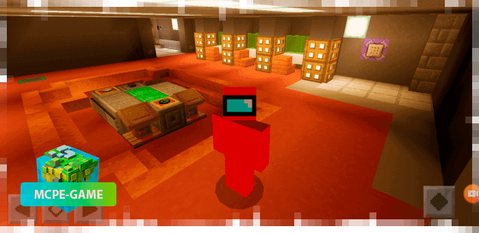 Among Us Craft — Карта для игры в Among Us в Майнкрафт ПЕ