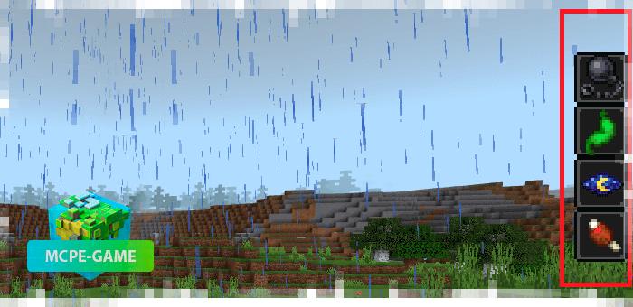 Кислотные дожди из мода на сложное выживание Apocalypse Addon