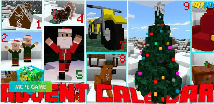 Christmas Calendar — Мод на новогодний календарь с подарками