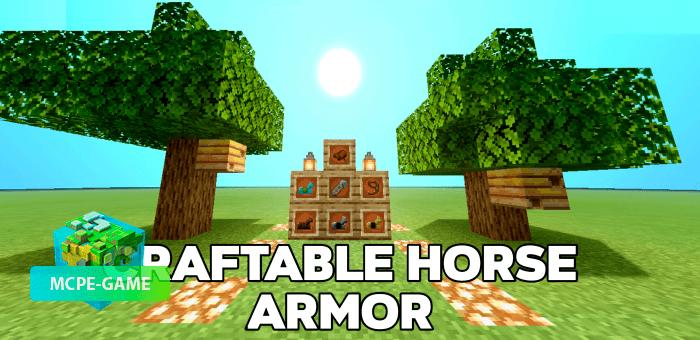 Craftable Horse Armor — Мод на рецепты крафта брони для лошадей
