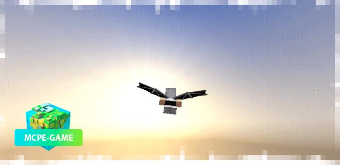 Dragon Wing — Мод на крылья драконов