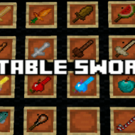 Eatable Swords — Мод на съедобные мечи