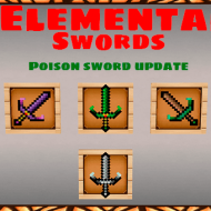 Elemental Swords — Мод на мечи с силами стихий