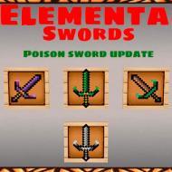 Elemental Swords — Мод на мечи с силами стихий