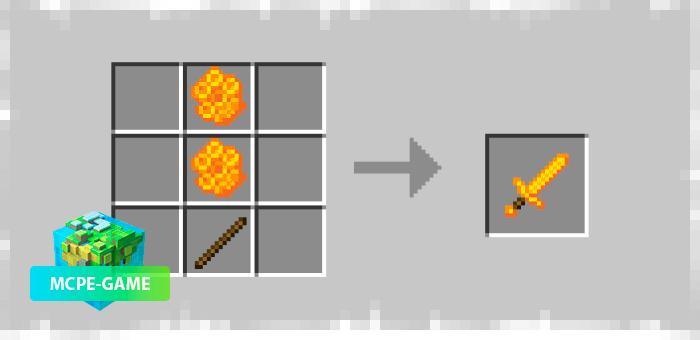 Рецепт крафта медового меча